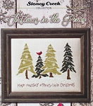 Christmas in the Pines - (Cross Stitch)