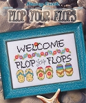 Plop Your Flops - (Cross Stitch)