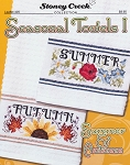 Seasonal Towels I Summer & Autumn - (Cross Stitch)