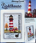 November Lighthouse Assateague Light, Virgina - (Cross Stitch)