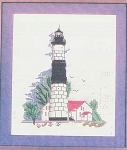 Big Sable Point Light Michigan - (Cross Stitch)