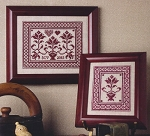 Olde Quaker Flowers - (Cross Stitch)