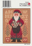 1997 Santa Prairie Schooler - (Cross Stitch)