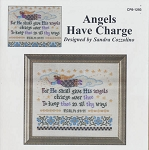 Angels Have Charge - (Cross Stitch)