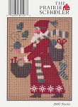 2007 Santa Prairie Schooler - (Cross Stitch)