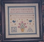 Blue Birds Sampler - (Cross Stitch)