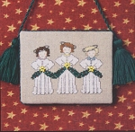 Angel Trio - (Cross Stitch)