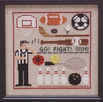 Sports Lineup - (Cross Stitch)