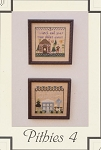 Pithies 4 - (Cross Stitch)