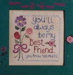 My Best Friend - (Cross Stitch)