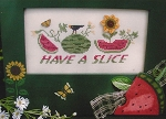 Have a Slice - (Cross Stitch)
