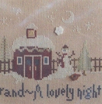 Christmas Break part 3 of Christmasland series - (Cross Stitch)