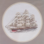 Cutty Sark - (Cross Stitch)