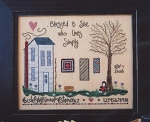 Live Simply - (Cross Stitch)
