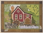 The Old Mill - (Cross Stitch)