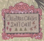 Christmas Calories Don't Count - (Cross Stitch)