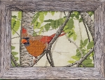 Cardinal in the Summer - (Cross Stitch)