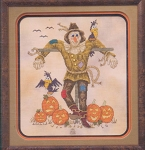 A Socialble Scarecrow - (Cross Stitch)