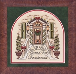 I'll Be Home For Christmas - (Cross Stitch)