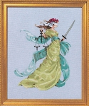 Lady Justice - (Cross Stitch)