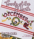 Towels of the Month - December - (Cross Stitch)