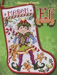 Elf Stocking - (Cross Stitch)