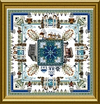 The Greek Mandala - (Cross Stitch)