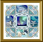 The Polar Mandala - (Cross Stitch)