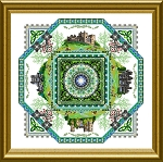 The Irish Mandala - (Cross Stitch)