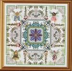 The Fairy Flowergarden Mandala