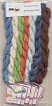 Mister Blueberry Blue Silk Thread Pack - (Cross Stitch)