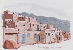 Taos Pueblo - (Cross Stitch)