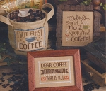 Coffee Time - (Cross Stitch)