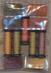 Autumn Ala Round Embellishment Pack - (Cross Stitch)