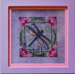 Shimmering Dragonfly - (Cross Stitch)