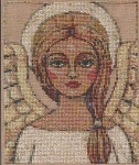 Angelic Vision - (Cross Stitch)