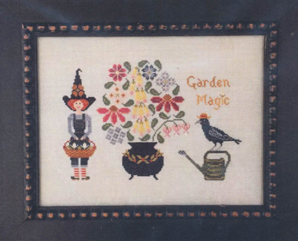 Garden Magic - (Cross Stitch)
