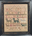 Charlotte Murdoch 1815 Cat Sampler - (Cross Stitch)