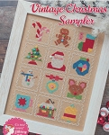 Vintage Christmas Sampler - (Cross Stitch)