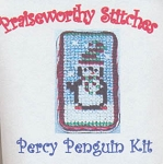 Percy Penguin Kit Needle Keeper - (Cross Stitch)