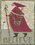 Believe - (Cross Stitch)