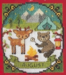 A Year of Animal Fun - August - (Cross Stitch)