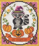A Year of Animal Fun - October - (Cross Stitch)