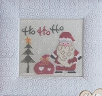 Ho Ho Ho - (Cross Stitch)