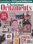 Christmas Ornaments 2018 Magazine - (Cross Stitch)