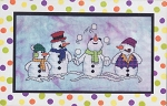 Snow Pals - (Cross Stitch)