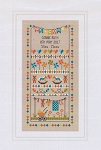 Baby Bunting Birth Sampler - (Cross Stitch)
