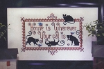 Really Friendly Cats - (Cross Stitch)