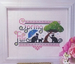 Spring Fur - (Cross Stitch)