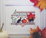 Autumn Fur - (Cross Stitch)